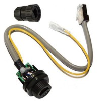 RJ45 Waterproof Connector - grounded
